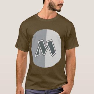 手紙M Tシャツ
