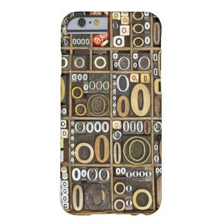 手紙O BARELY THERE iPhone 6 ケース