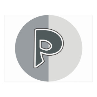 手紙P ポストカード