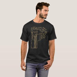手紙P -定規 Tシャツ
