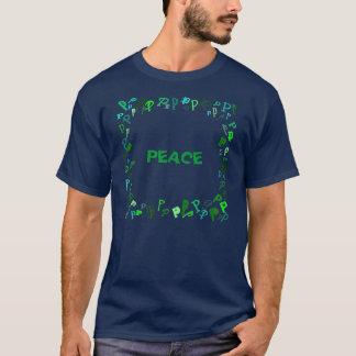 手紙P Tシャツ
