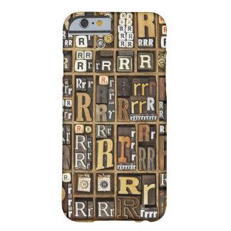 手紙R BARELY THERE iPhone 6 ケース