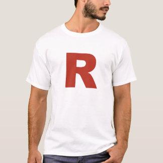 手紙R Cosplayのワイシャツ Tシャツ