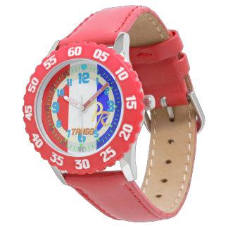 手紙Tのタンゴの海洋のアルファベットのウォーター・スポーツの子供 腕時計
