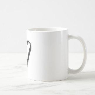 手紙V コーヒーマグカップ