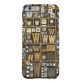 手紙W BARELY THERE iPhone 6 ケース