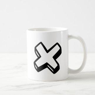 手紙X コーヒーマグカップ
