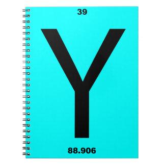 手紙Yの周期表 ノートブック