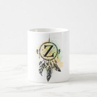 手紙Zのクールなコップ コーヒーマグカップ