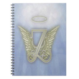 手紙Zの天使のモノグラム ノートブック