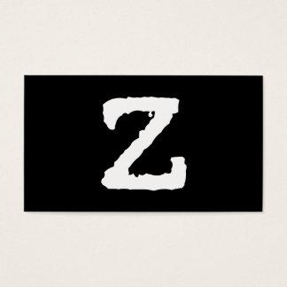 手紙Z 名刺