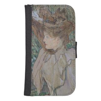 手袋を持つ女性、1891年