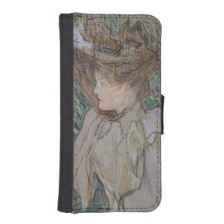 手袋を持つ女性、1891年 iPhoneSE/5/5sウォレットケース