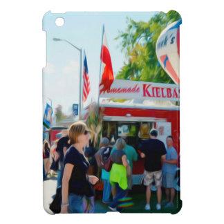 手製のKielbasyおよびPierogies iPad Miniケース