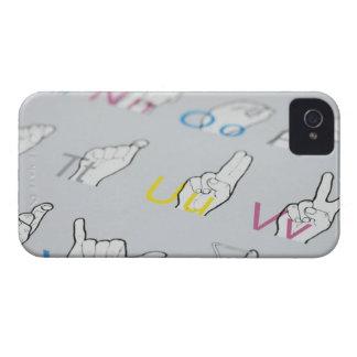 手話のABC Case-Mate iPhone 4 ケース