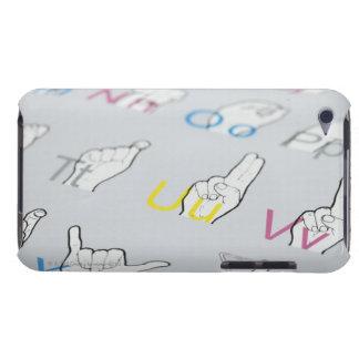 手話のABC Case-Mate iPod TOUCH ケース