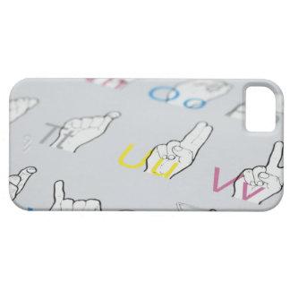 手話のABC iPhone SE/5/5s ケース