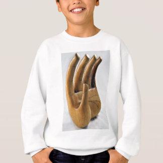 手 スウェットシャツ