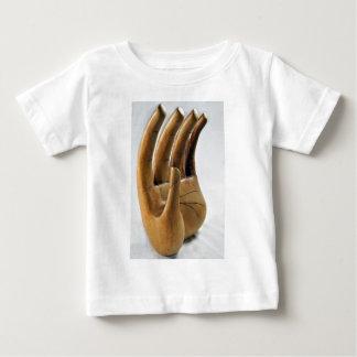 手 ベビーTシャツ
