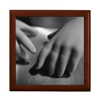 手-記憶-カスタマイズ可能な記念品箱- ギフトボックス