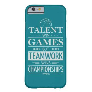 才能の勝利ゲームの電話箱 BARELY THERE iPhone 6 ケース