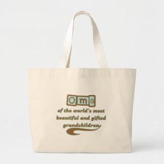才能豊かな孫のOma ラージトートバッグ