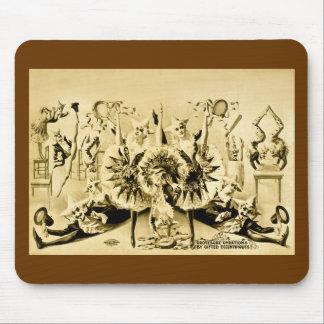 才能豊かなEccentriques 1900年著異様な旋回 マウスパッド