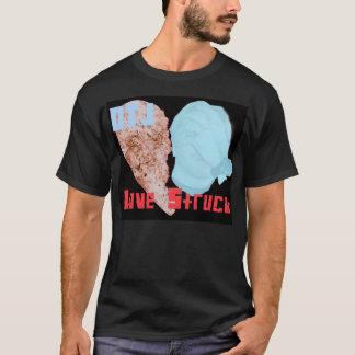 打たれるDTJ-LOVE Tシャツ
