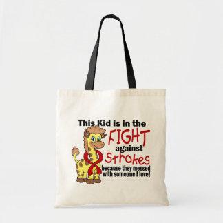 打撃に対する戦いの子供 トートバッグ