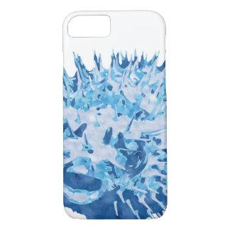 打撃の魚の電話箱 iPhone 7ケース
