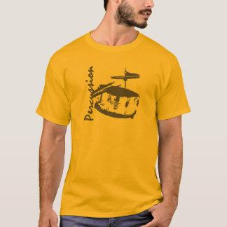 打楽器のわな Tシャツ