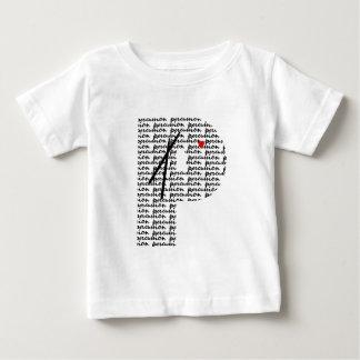 打楽器の手紙P ベビーTシャツ