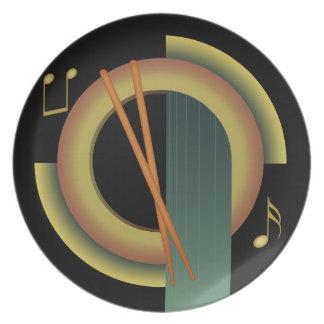打楽器のDecoのプレート プレート
