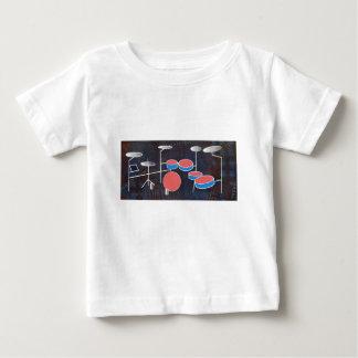打楽器色 ベビーTシャツ