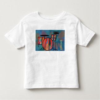 打楽器 トドラーTシャツ