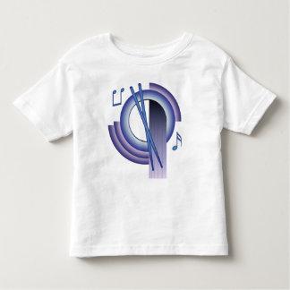 打楽器Deco2 トドラーTシャツ