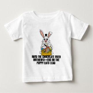 扱いにくいイースターのウサギ ベビーTシャツ