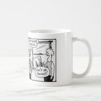 扱いにくいウサギ…ニースの農夫 コーヒーマグカップ