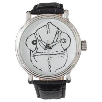 扱いにくいカメレオンの予測できなくシンプルな腕時計のデザイン 腕時計