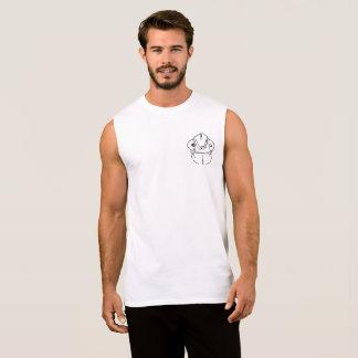 扱いにくいカメレオンの写実的な小型のデザイン 袖なしシャツ