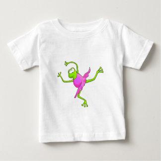 扱いにくいバレエのカエル ベビーTシャツ
