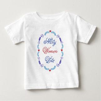 扱いにくい女性の投票 ベビーTシャツ
