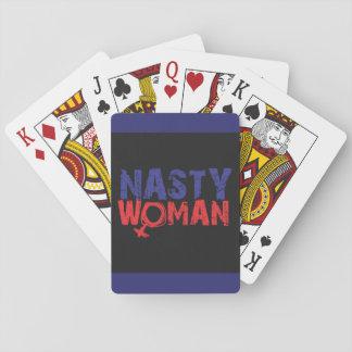 扱いにくい女性カード トランプ