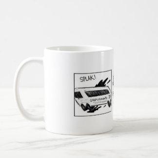 扱いにくい尼僧の笑い コーヒーマグカップ