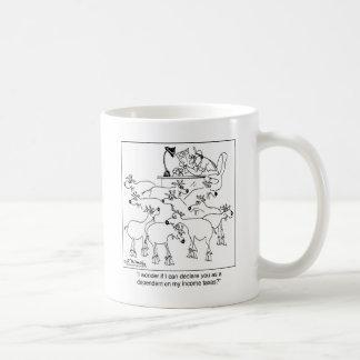 扶養家族としてヤギの宣言 コーヒーマグカップ