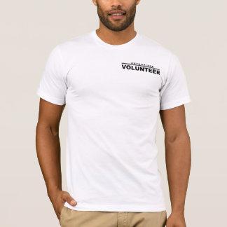 承認されたボランティア Tシャツ