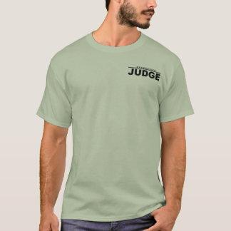 承認された裁判官 Tシャツ