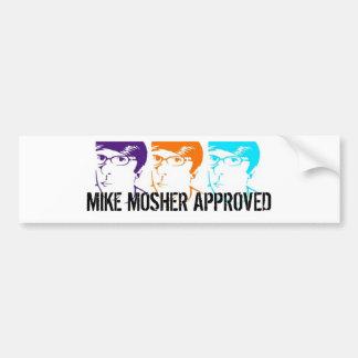 承認されるマイクMOSHER バンパーステッカー