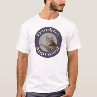 承認される草原の足の動物保護施設のそばかす Tシャツ