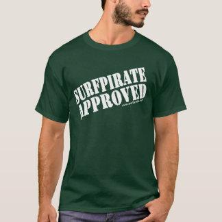 承認されるsurfpirate tシャツ